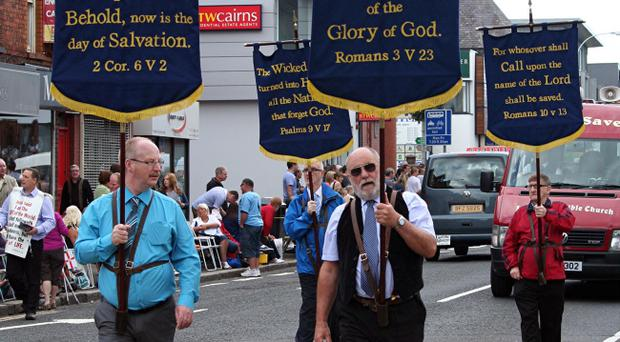 March of Witness, Belfast Parade. Submitted by James Patterson