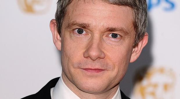 Star of The Hobbit Martin Freeman was at Comic-Con where fans were treated to a glimpse of the film