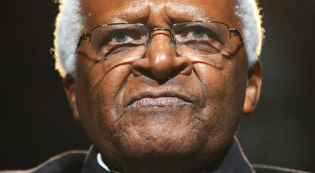 Archbishop Desmond Tutu accused the Government of refusing to deal with elderly torture victims with the 'dignity they deserve'