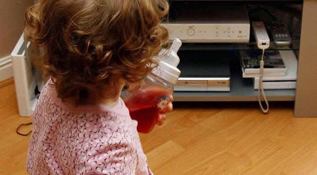 A study suggests toddlers' TV viewing habits will impact upon their fitness and fatness as they grow up