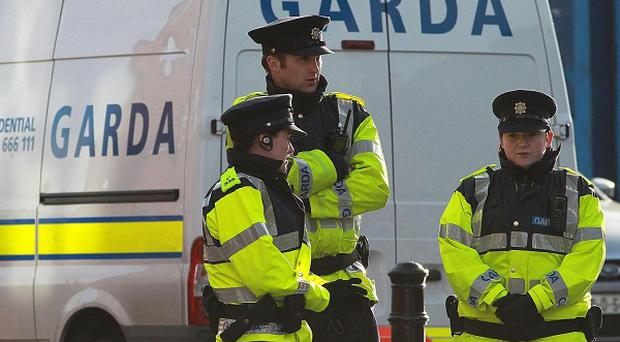 Gardai are investigating two armed raids