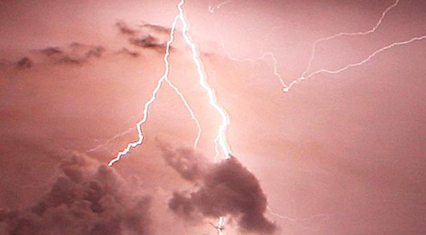 Lightning struck a dining tent at a food festival in Canada, injuring 17 people