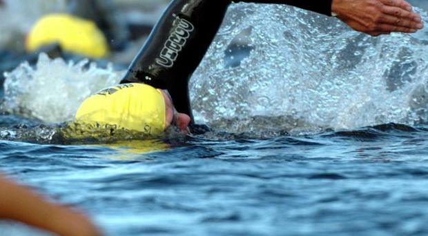 An Irish endurance swimmer has become the first person in the world to complete a gruelling seven-channel swim