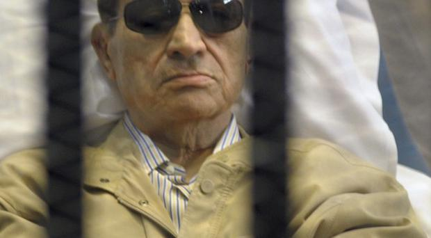 Egypt's ex-President Hosni Mubarak has been returned to prison (AP)