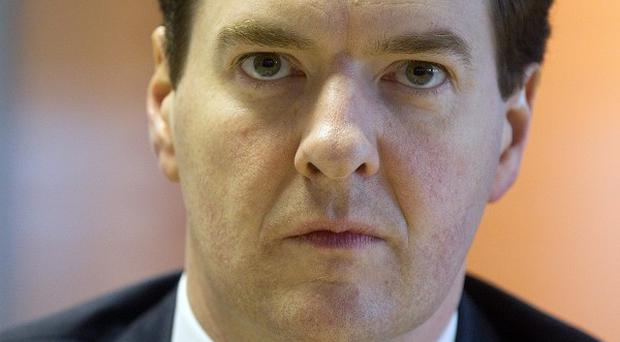 There has been a double-digit drop in confidence in David Cameron's team, including Chancellor George Osborne