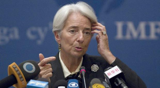Christine Lagarde: The IMF is still not seeing signs of recovery