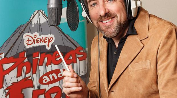 Jonathan Ross will play an antiques dealer on Phineas And Ferb
