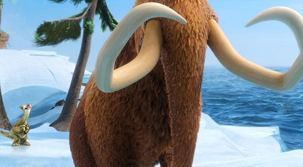 Ice Age: Continental Drift has topped the US box office