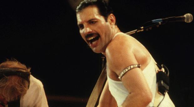 Queen have topped a poll of patriotic pop songs