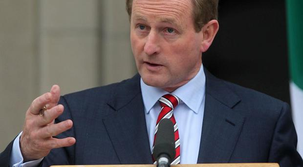 Taoiseach Enda Kenny said the stimulus plan was part of the commitment to tackling unemployment
