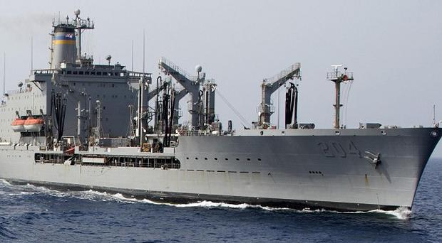 The USNS Rappahannock fired upon an Indian fishing boat without warning, according to the Indian ambassador to the UAE (AP)