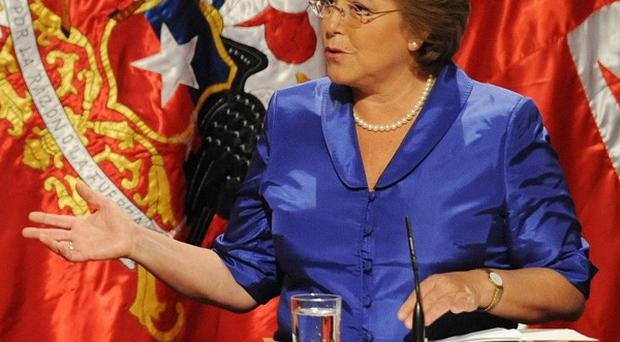 Michelle Bachelet became Chile's first woman president in 2006