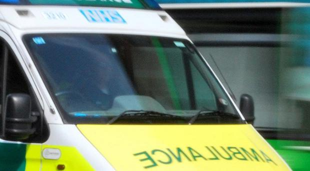 Emergency services were unable to save a girl who fell into the sea off Co Antrim