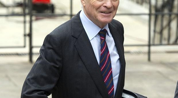 Max Mosley arrives to give evidence to the Leveson inquiry at the High Court in London