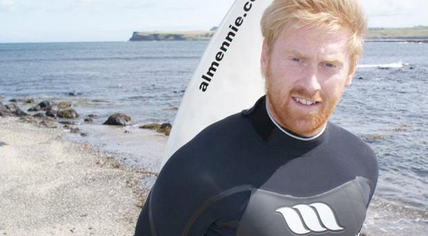 Warning: Surfer Al Mennie says waters can be lethal