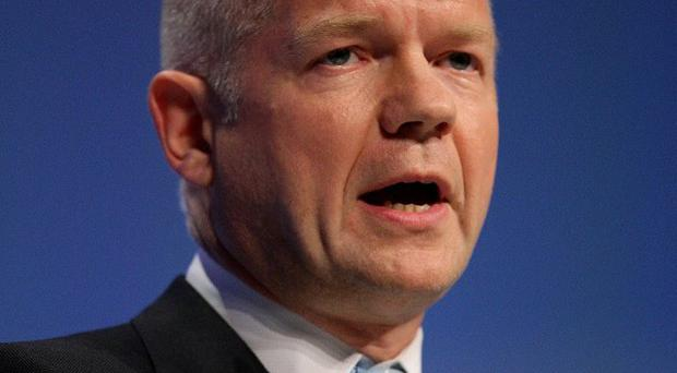 Foreign Secretary William Hague warned the situation in Syria is 'clearly deteriorating'
