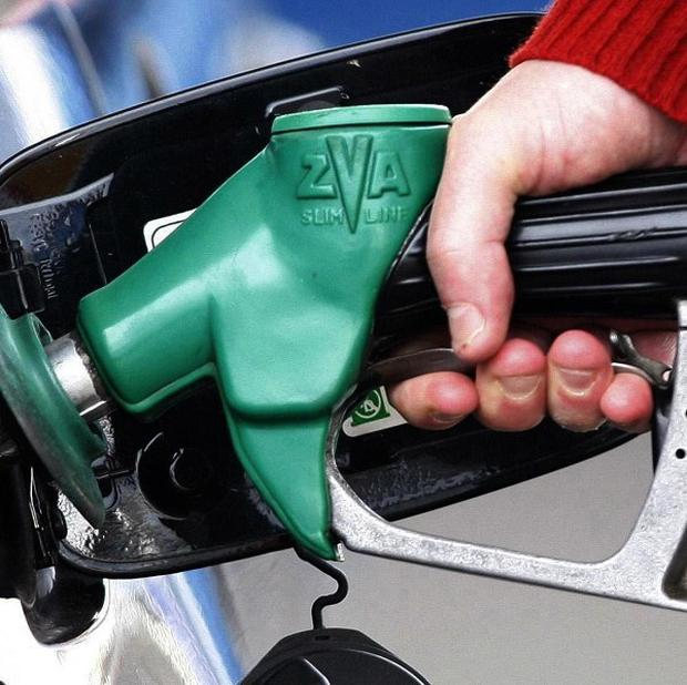 Petrol is cheapest in Yorkshire and Humberside at 131p a litre and most expensive in Northern Ireland at 133p