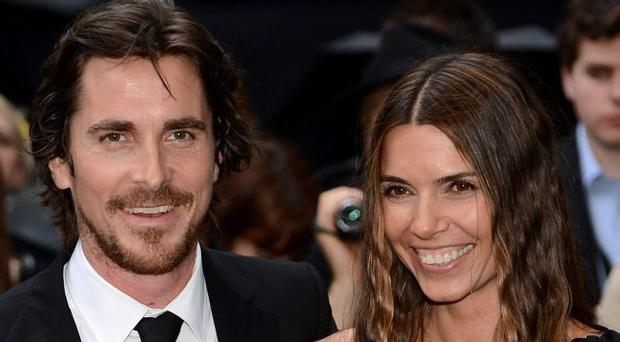 Actor Christian Bale and wife Sandra Bale attend European premiere of