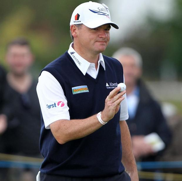 Paul Lawrie was the early leader at Lytham