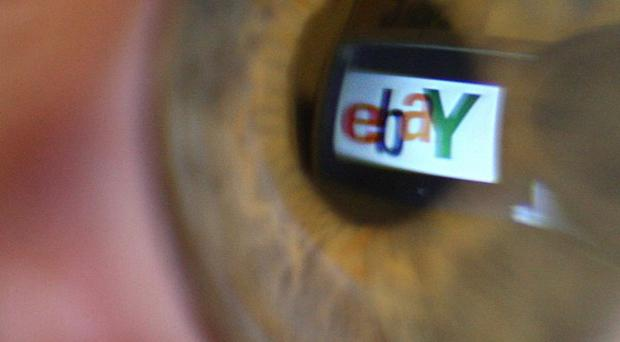 EBay earned 443 million pounds in the April-June period