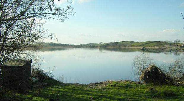 Lough Cowley reservoir, Portaferry, one site which may be up for sale