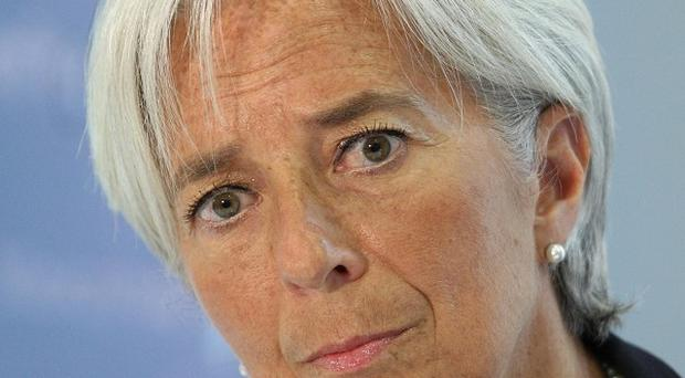 IMF managing director Christine Lagarde said George Osborne should prepare to slow austerity measures