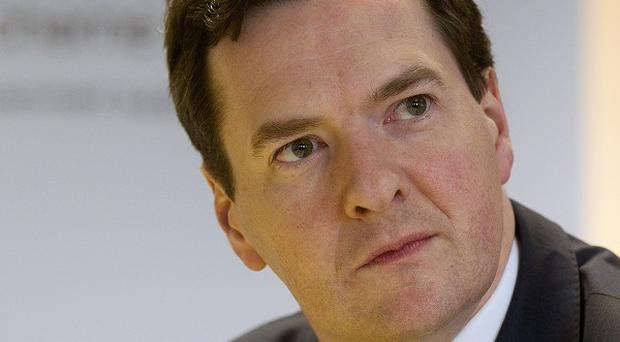 Some economists have warned Chancellor George Osborne is already on course to significantly overshoot his full-year borrowing target