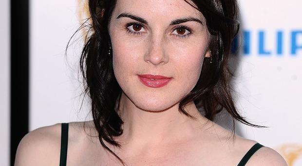 Downton Abbey star Michelle Dockery is nominated for a gong at this year's Emmy Awards