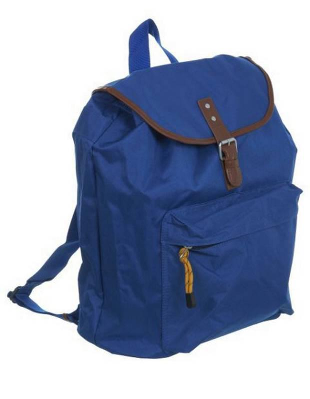 <b>1. Burton</b><br/> <b>£26, burton.co.uk</b> A backpack is effective for a brief getaway, especially if the destination is a muddy field and hands must be free to carry lager. This nylon one will also withstand rain.