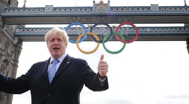 London Mayor Boris Johnson has called on people to look at the positive impact the Olympics are bringing to the city
