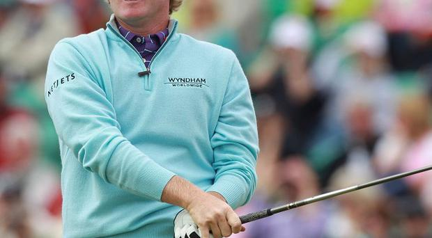Brandt Snedeker holds a surprise lead at The Open Championship