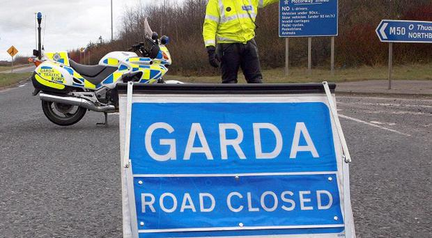 A driver was killed in Moville as his car crashed into a telegraph pole