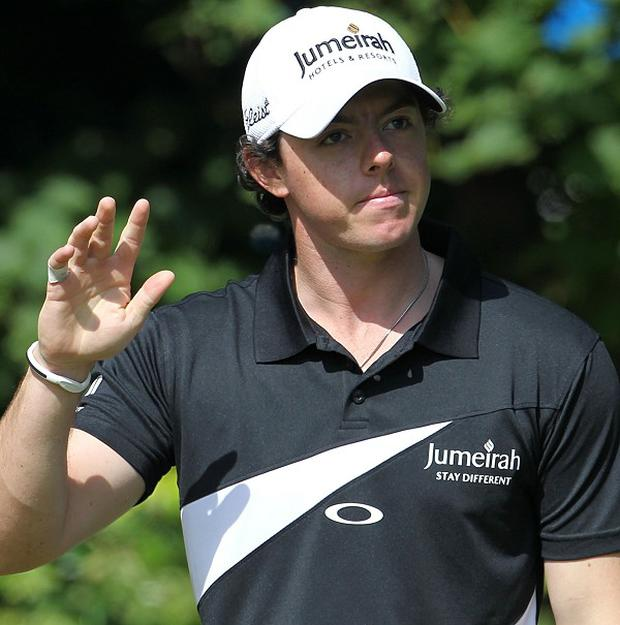 Rory McIlroy carded a third-round 73 at Lytham