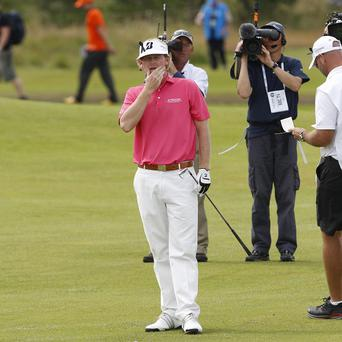 Brandt Snedeker has relinquished the Open lead