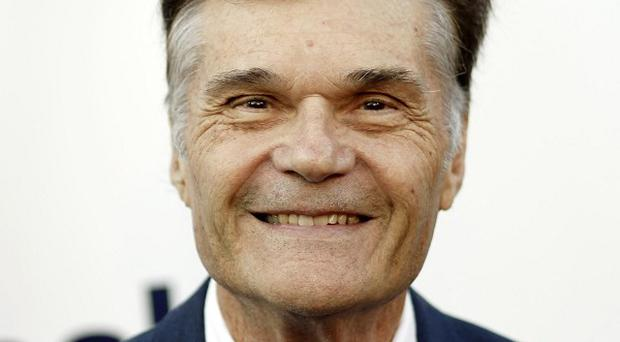 Fred Willard was nominated four times for Emmys for guest roles on TV's Modern Family and Everybody Loves Raymond (AP/Matt Sayles)