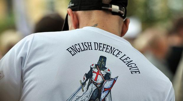 EDL supporters have marched through Chelmsford