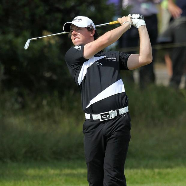 Rory McIlroy got off to a shaky start on his final round at Lytham