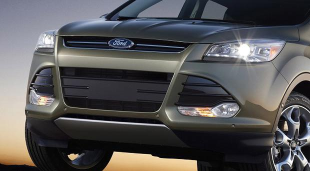 The recall affects the 2013 model Ford Escape (AP Photo/Ford Motor Co)