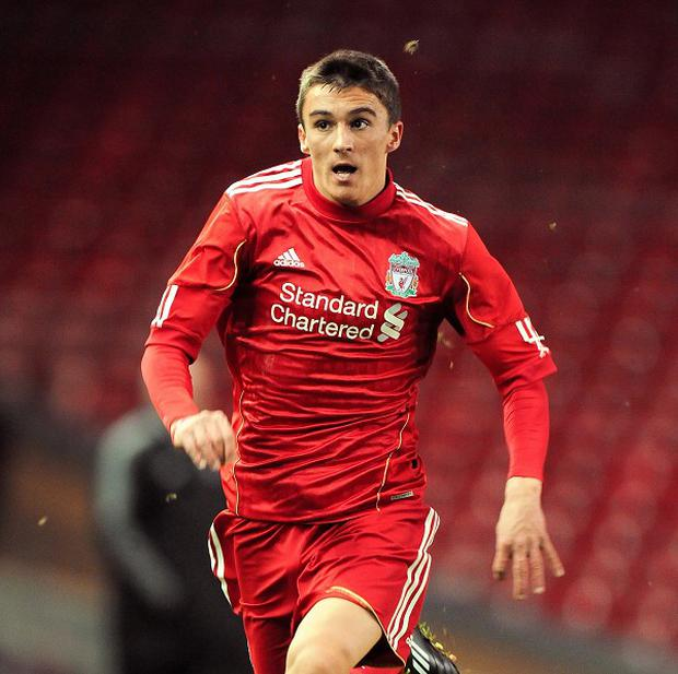 Adam Morgan has been tipped to have a bright future at Liverpool
