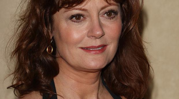 Susan Sarandon said she is used to producing because she's a mother
