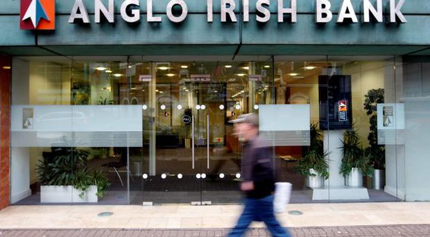 Northern headquarters of the Anglo Irish Bank in Belfast, Northern Ireland
