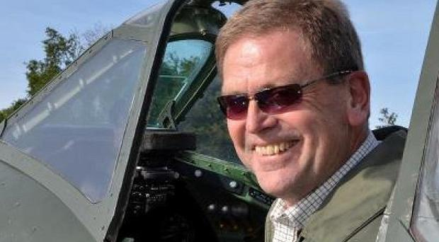 Andrew Stillwell-Cox's light aircraft crashed into cliffs in Cornwall on Saturday