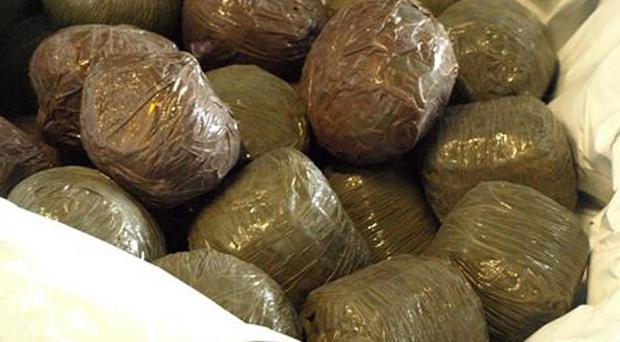Cannabis worth 2.6 million euro was seized in an intelligence-led joint operation in Dublin