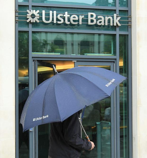 Storm clouds: Ulster Bank