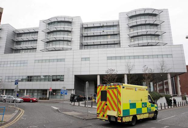 No bed: The suicidal woman was sent home from the Royal Victoria Hospital. She has now written to Health Minister Edwin Poots