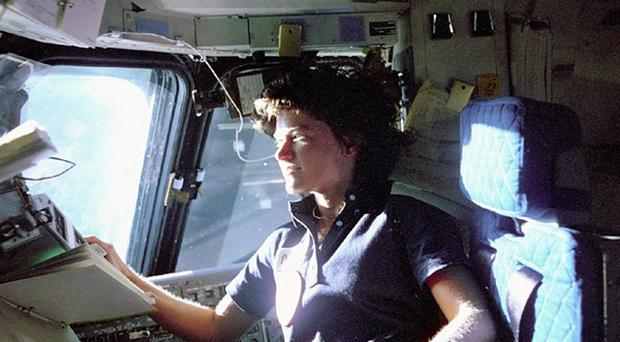 Sally Ride was the first American woman in space (AP/Nasa)
