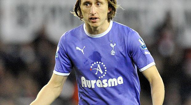 Tottenham midfielder Luka Modric is a target for a number of clubs