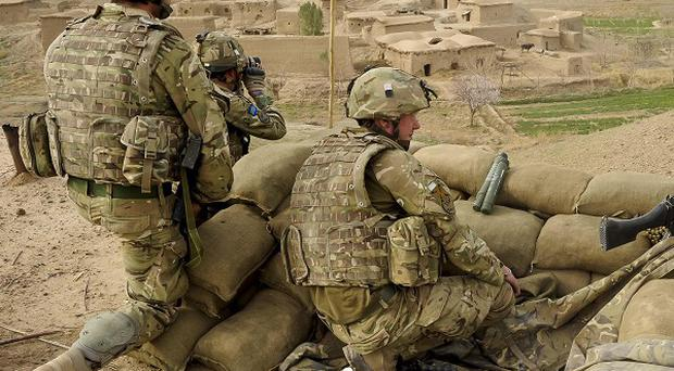 The UK's options for intervention in Syria could include joining a coalition for military action, a former Army commander has said