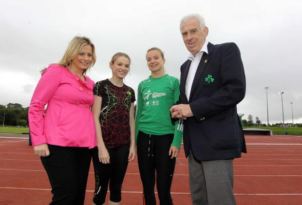 Brian Downing Memorial International Meet at Antrim Stadium as part of the Athletics Olympic Pre-Games Training Camp in Antrim.