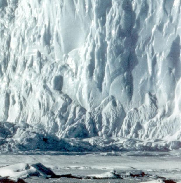An ice-filled canyon a mile deep has been discovered in the Antarctic